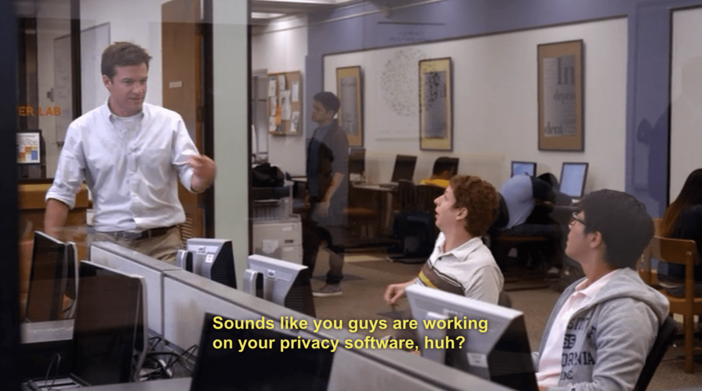 you working on your privacy software