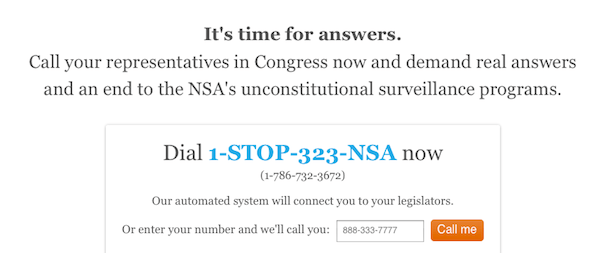 stand against nsa